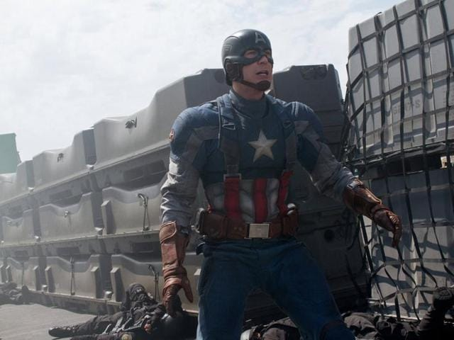 Civil War features most of Marvel's Avengers, including Iron Man (Robert Downey, Jr.), Hawkeye (Jeremy Renner), Black Widow (Scarlett Johansson) and Falcon (Anthony Mackie).