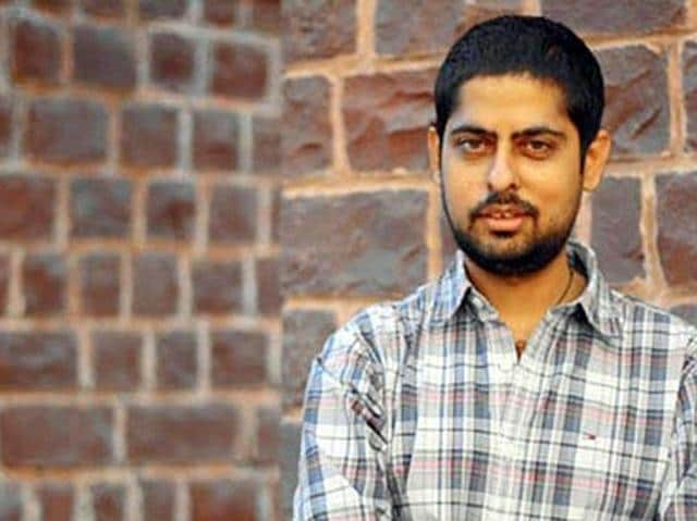 Writer-lyricist and stand-up comedian Varun Grover. (HTPhoto)