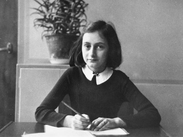 Anne Frank's diary, The Diary of a Young Girl, chronicling the two years of her life spent in hiding when the Germans occupied the Netherlands in World War II, is considered one of the most poignant accounts detailing the horrors of the holocaust.(AFP)
