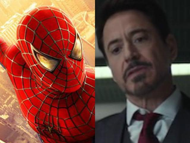 Tom Holland, who plays Spiderman in Captain America: Civil War, says Downey Jr and Chirs Evans helped him  at every step.