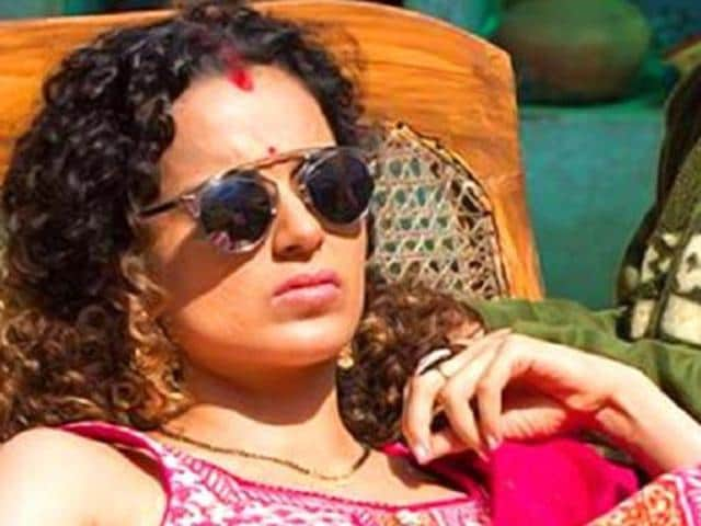 Kangana is currently involved in a legal battle with Hrithik Roshan. (HT Photo)