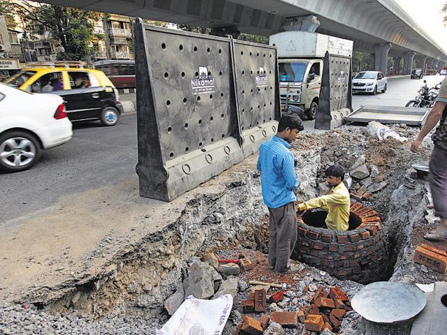 BMC,Road Work,Contractors