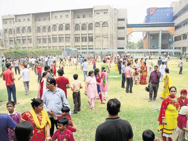 Chhabil Dass Public School in Patel Nagar received two hoax bomb calls on Tuesday.