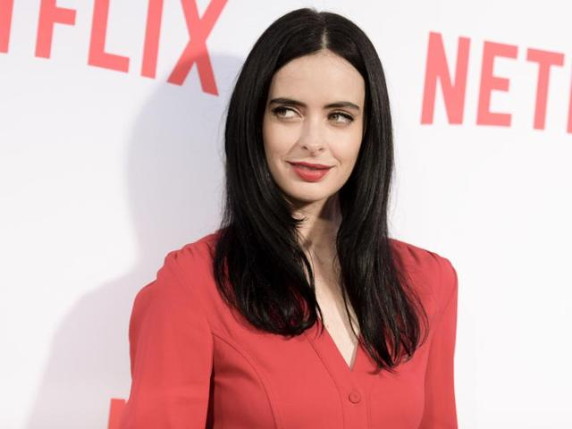 Krysten Ritter attends the Netflix's Marvel's Jessica Jones Screening and Q&A at Paramount Studios, in Los Angeles, California, on May 3, 2016.