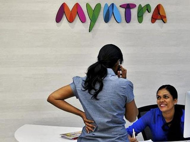 Myntra,Flipkart,Google Play Store