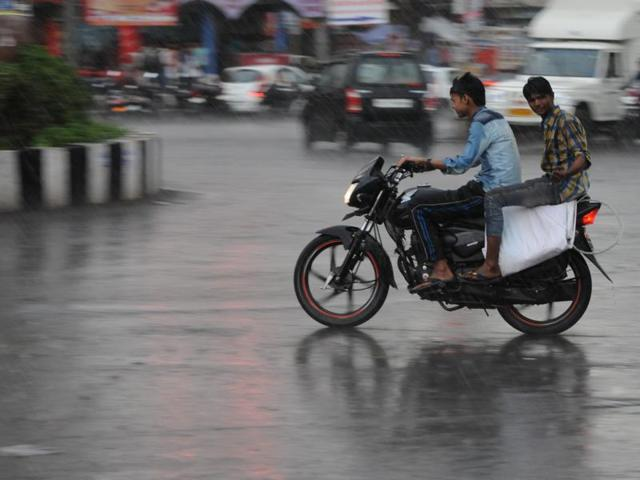 Thunderstorm and shower brought relief to people of Bhopal from sweltering heat.