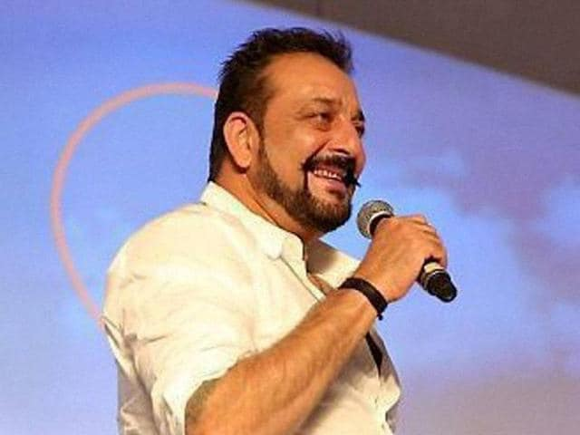 Sanjay Dutt speaks at a session on