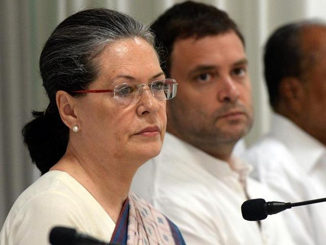 Sonia Gandhi and the Congress party have been attacked by the government for their alleged involvement in the VVIPChopper corruption case.
