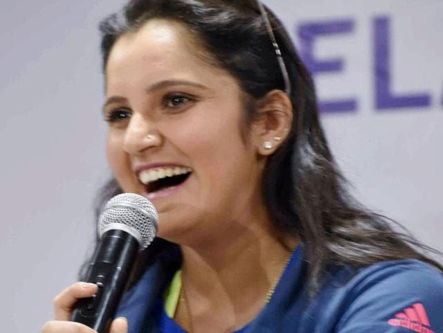 Tennis player Sania Mirza receives the Padma Bhushan, India's third highest civilian award, from President Pranab Mukherjee. The World No.1 women's doubles player has penned her autobiography, documenting her journey thus far.