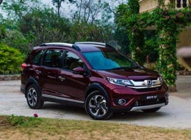 honda br v compact suv launched starting price is rs lakh autos hin. Black Bedroom Furniture Sets. Home Design Ideas