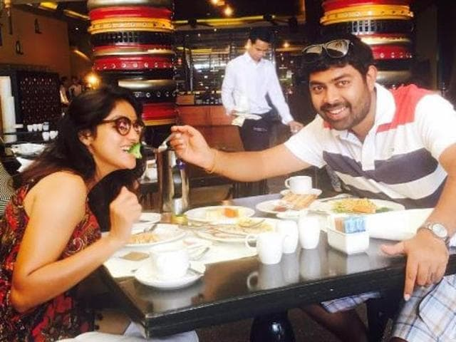 The 26-year-old actor who has been married for two years to director Rohit Raj Goyal, took to her Instagram page and shared a series of pictures with her husband, showing them enjoying every bit of their marital bliss.