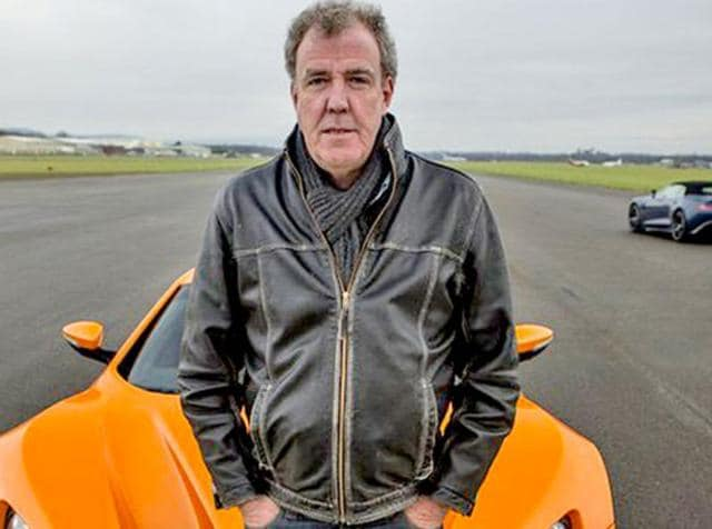 Clarkson said what's very entertaining is that Evans is having a very hard time at the moment as he attempts to put Top Gear back together again, adding that it is being suggested that he is behind it and is trying to scupper him.