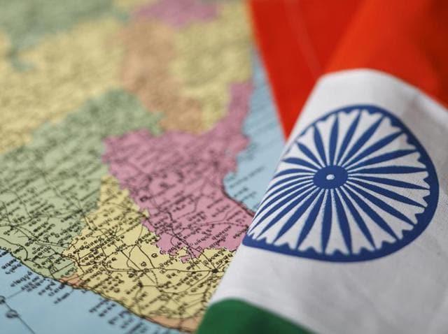 India map,india borders,india china border