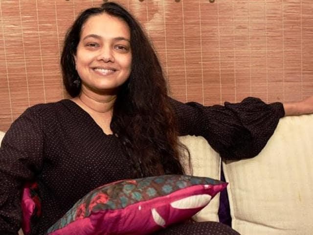 We meet Purva Naresh at her Lokhandwla residence.(Photo: Vidya Subramanian/HT)