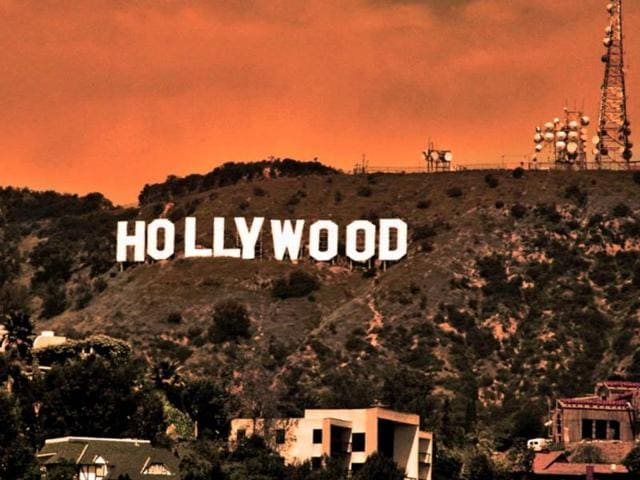 The Hollywood Sign is a landmark and American cultural icon located in Los Angeles, California. It is situated on Mount Lee, in the Hollywood Hills area of the Santa Monica Mountains. The sign overlooks Hollywood, Los Angeles.