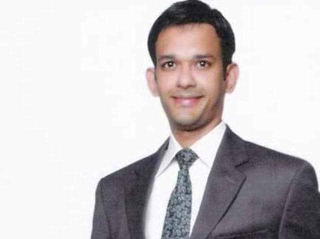 """File photo of Hamid Nehal Ansari, a Mumbai resident who was given a three-year jail term by a Pakistani military court earlier this year on charges of """"spying""""."""