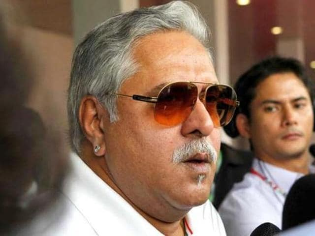 Vijay Mallya during an interview with the Financial Times in London.