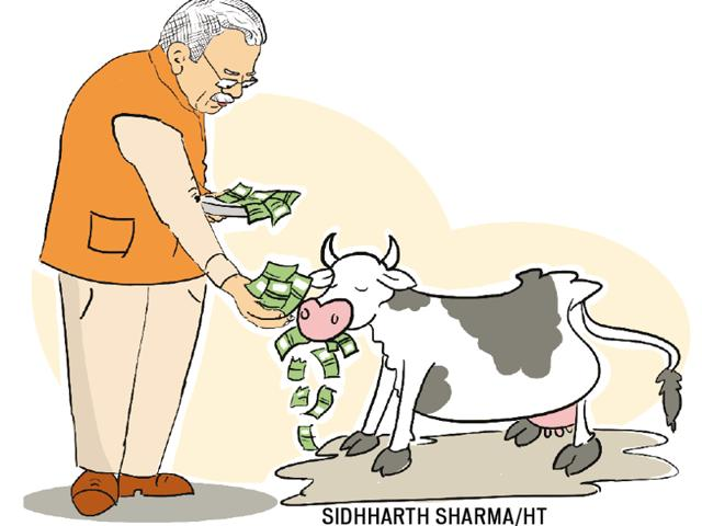"""It is no secret that for chief minister Manohar Lal Khattar and his ministers, the cow is an """"article of faith""""."""