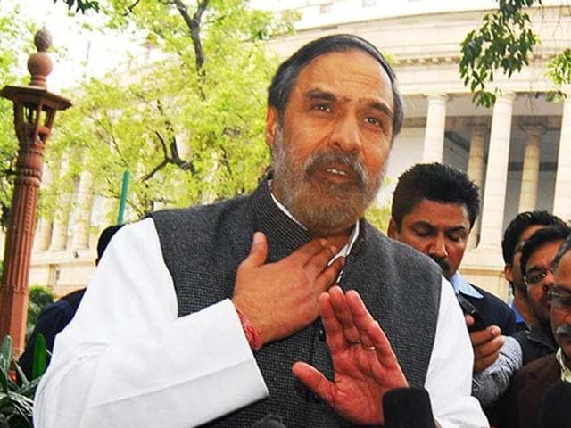Congress leader Anand Sharma asked the government how Subramanian Swamy got access to confidential files on the Agusta deal.