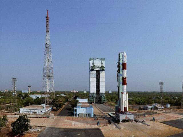 ISRO's seventh navigation satellite IRNSS-1G before its launch. India currently has 34 operational Indian satellites, the government told the Rajya Sabha on Thursday.