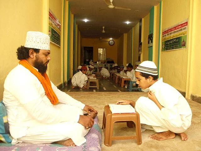 A madrassa in Goregaon (West), Mumbai. Maharashtra received over Rs 9 crore as grants to promote education among minorities.