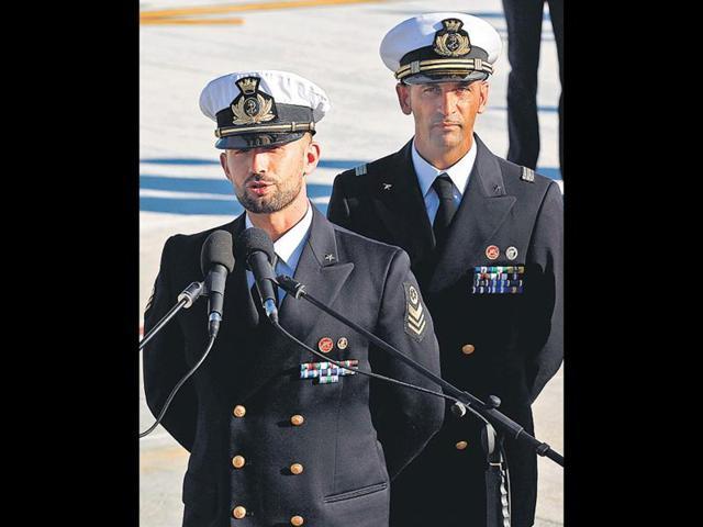 India,Italain marines,Italy