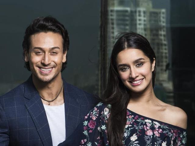 Director Sabbir, actor Tiger Shroff and Shraddha Kapoor promote Baaghi at Hindustan Times office.