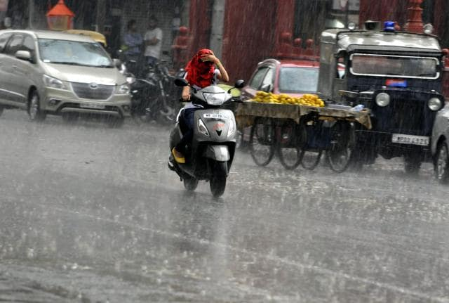 The south-west monsoon will hit the Odisha coast by June 8,. (AP Photo/Anupam Nath)