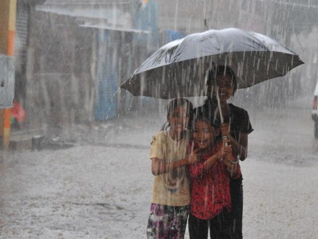 Pre-monsoon showers lashed Indore on Thursday.