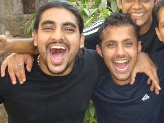 On October 20, 2011 Reuben Fernandez (L) and Keenan Santos (R) were attacked outside a popular eatery in Amboli when they tried to shield their female friends.