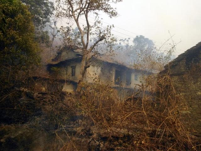 The brief spell of rains on Tuesday evening and Wednesday early morning brought relief in some parts of the Uttarakhand from forest fires.
