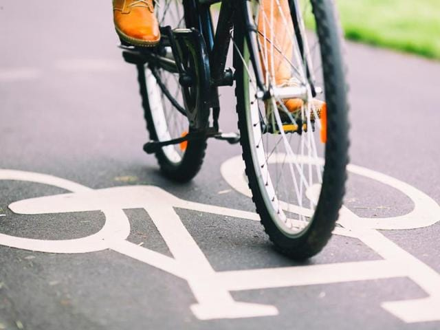 Walking and cycling go a long way in curbing air pollution as well by having less pollutants on road.