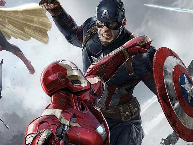 Iron Man and Captain America's showdown is just one of the many that will keep you absorbed in Captain America: Civil War. This fast-paced, intimate film is full of happy surprises; Tom Holland's Spider-Man is one.(Marvel)