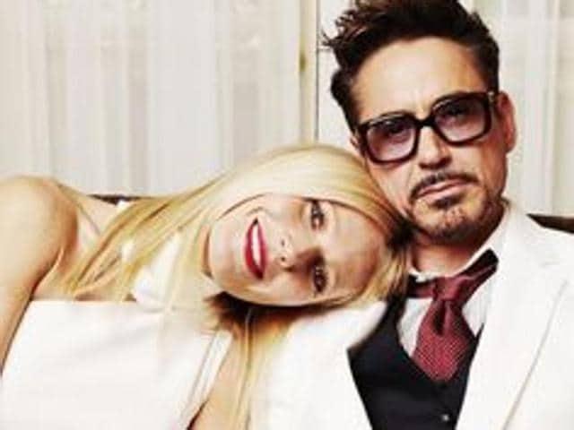 Robert Downey Jr,Iron Man,Gwyneth paltrow