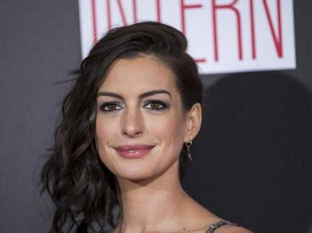 Hathaway can next be seen reprising her role as the White Queen in Alice Through the Looking Glass.