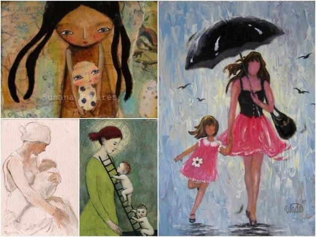 What better way is there to express our eternal gratitude than to celebrate motherhood through our favourite images of mothers in art.