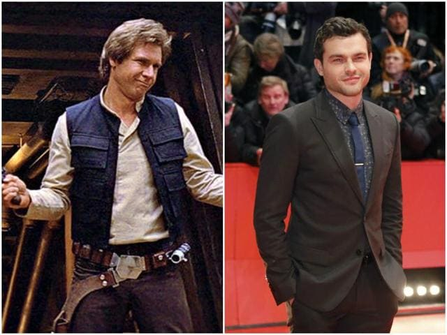 The 26-year-old actor will be handed the keys to the Millenium Falcon by Hollywood star Harrison Ford who has played Solo in four movies from the Star Wars franchise so far.