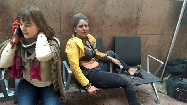 Nidhi Chaphekar after the Brussels attack