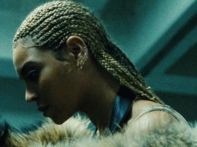 Beyonce in a still from her new album, Lemonade.