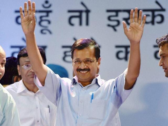 Delhi chief minister Arvind Kejriwal called the BJP and the Congress 'dharna parties' for protesting over the AgustaWestland chopper row.