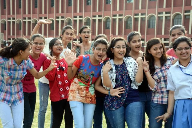 The ICSE and ISC results in Mumbai this year have been the best in the past six years. (Photo by Sakib Ali /Hindustan Time)