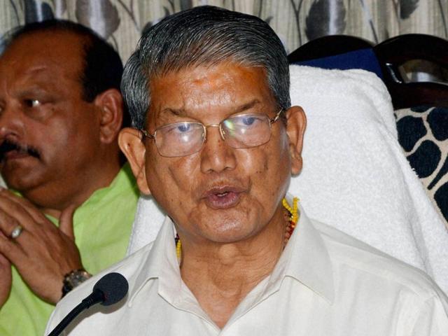 Deposed Uttarakhand chief minister Harish Rawat