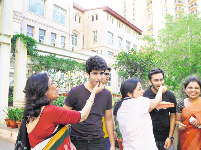 Gurgaon topper emphasises on dedication to achieve results