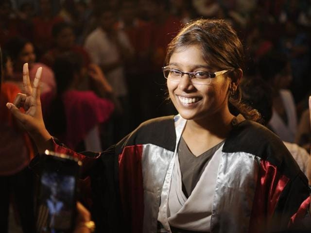 Class 10 student Jyotsana Srivastava from Lucknow got 99% marks and second position in ICSE results on Friday .