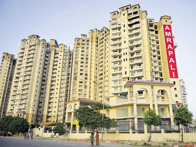 Amrapali Group has delayed three group housing projects — Platinum and Zodiac in Sector 119 and Sapphire in Sector 45.