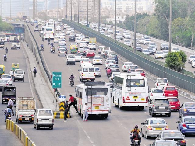 Delhi-Gurgaon expressway