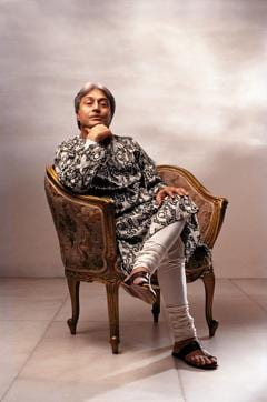 """Carntic vocalist MS Subbulakshmi teased Desai for taking so many shots. """"Am I a young bride?"""" she asked"""