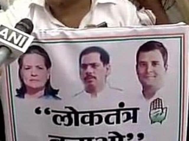 Robert Vadra,Congress,Rahul Gandhi