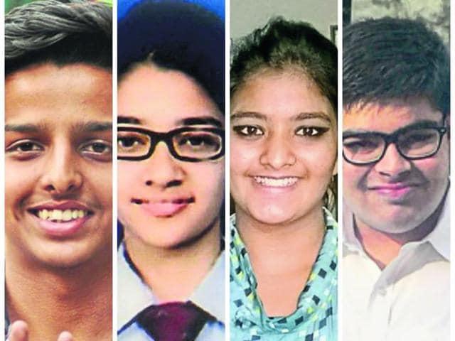 (From left to right) Arpit Bansal, Sameeksha, Nandani Thakur and Karttikeya.