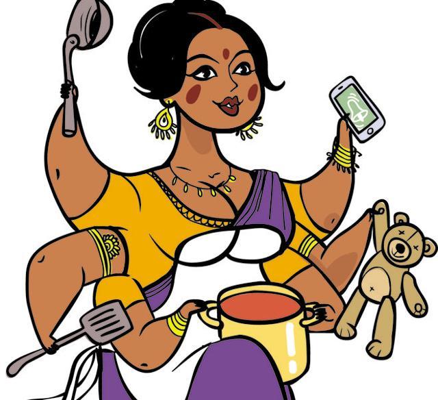 Indian mother,WhatsApp,Facebook